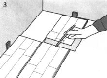 Parkett Verlegeanleitung Für Den Heimwerker - Längs zum lichteinfall
